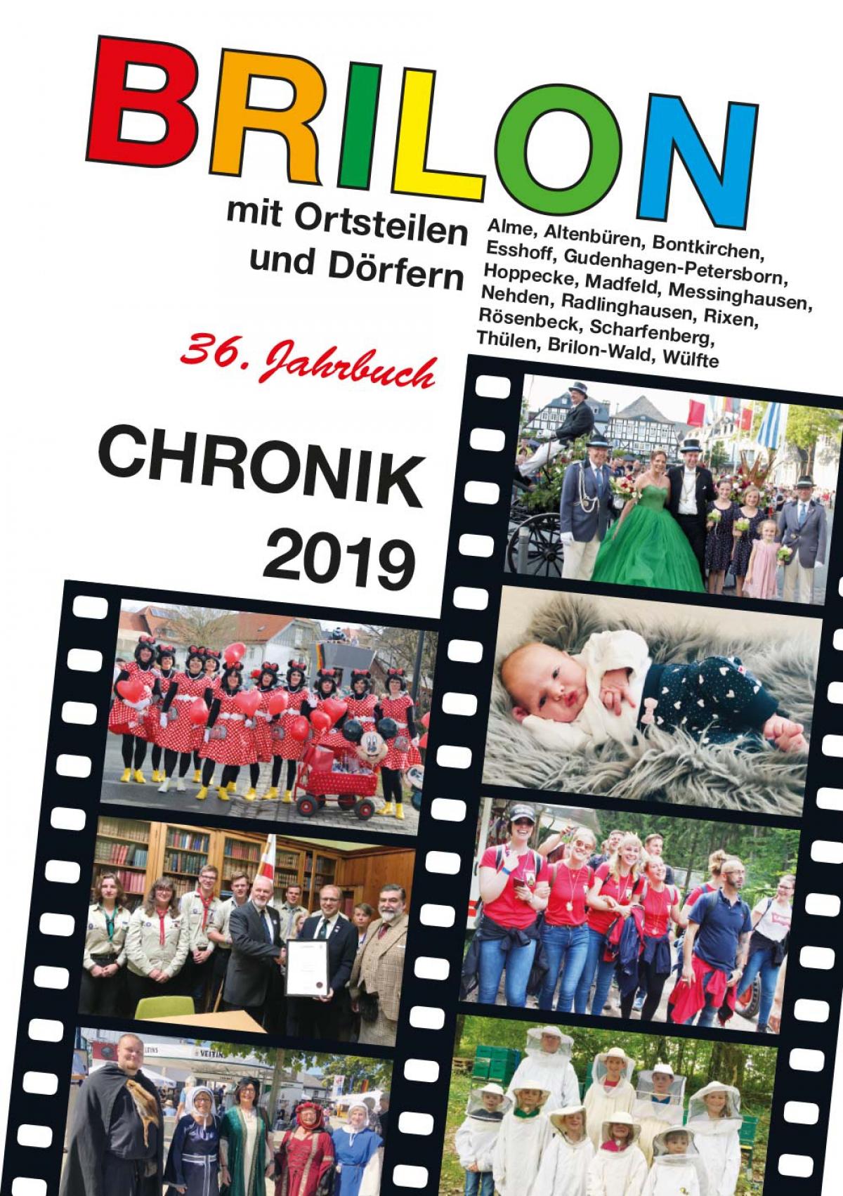 Die Briloner Chronik 2020 ist ab dem 27. November für 10€ erhältlich
